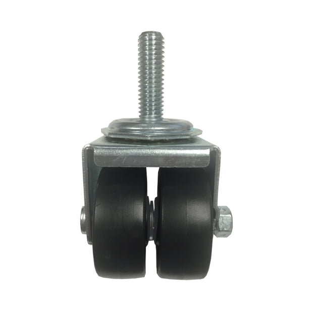 Dual Wheel Swivel Caster