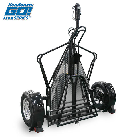Go! Series Single Rail Folding Motorcycle Trailers