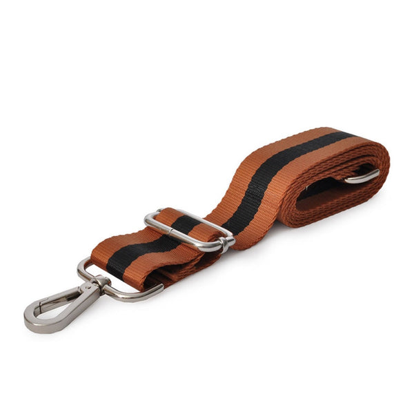 Shoulder Strap - Black/Tan