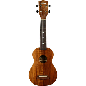 Kala Elite Koa 2 Soprano Gloss Ukulele with Case