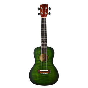 Twisted Wood Forager Concert Ukulele with Bag