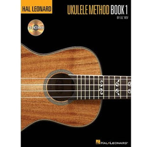 Hal Leonard Ukulele Method Book 1 by Lil' Rev