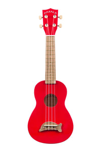 Makala Candy Apple Red Dolphin Soprano Ukulele MK-SD-CAR