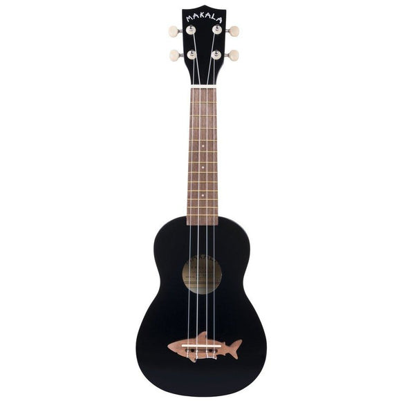 Makala Blacktip Soprano Shark Ukulele with Bag