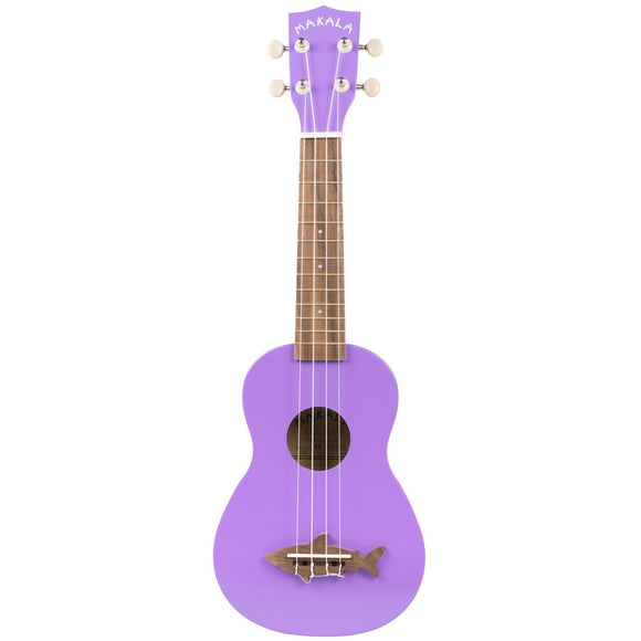 Makala Soprano Dolphin Ukulele Sea Urchin Purple with Bag