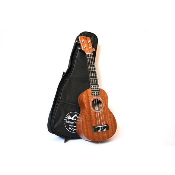 Twisted Wood PI-100S Pioneed Soprano Ukulele