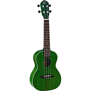 Ortega Earth Concert Ukulele Forest Green