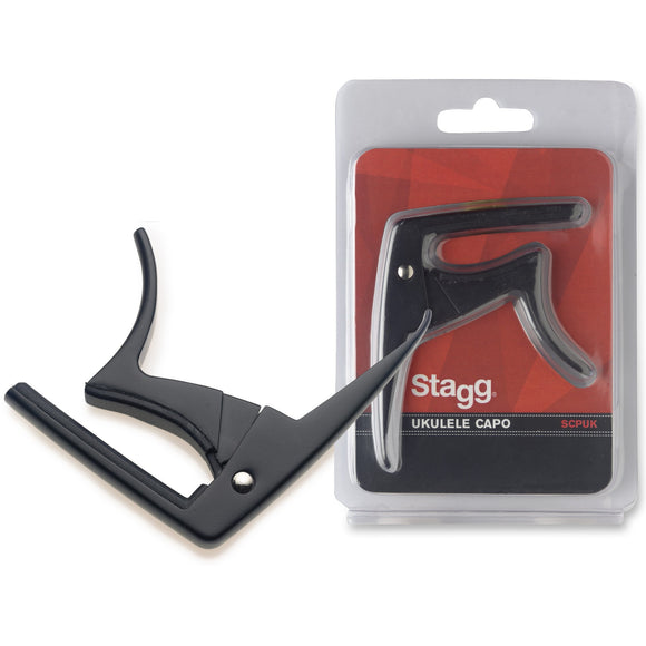 Stagg Ukulele Capo - Black