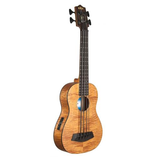 Kala Exotic Mahogany Acoustic Electric U-BASS with Gig Bag
