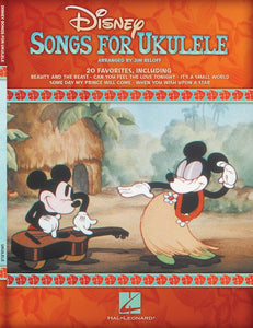 Disney Songs for Ukulele by various artists