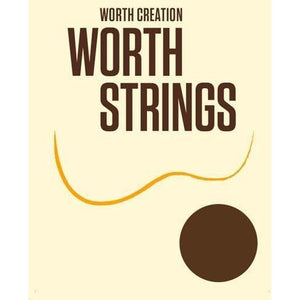 Worth Clear Tenor Low G Ukulele Strings