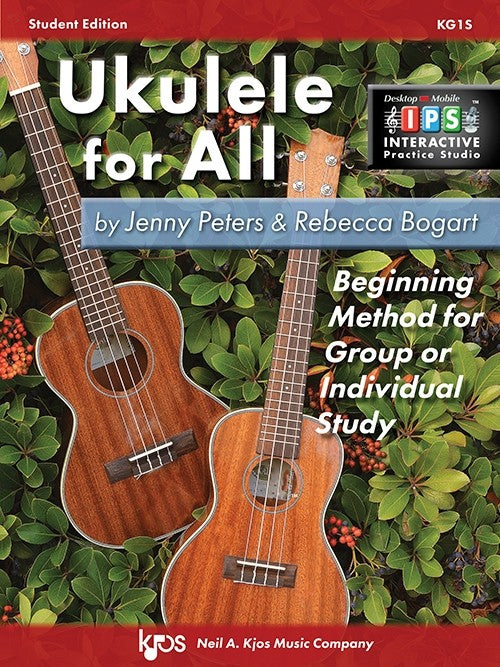Ukulele for All by Jenny Peters & Rebecca Bogart