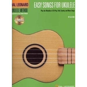 Easy Songs Ukulele Book/CD by various artists