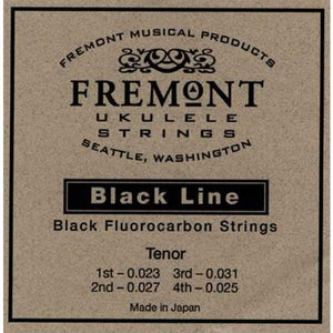 Fremont STR-FT Blackline Flurocarbon Tenor Ukulele Strings