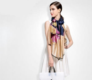 Luxury Silk Scarf beautyleesh.com