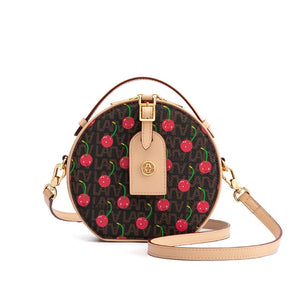 Cherry Rounded Bag beautyleesh.com