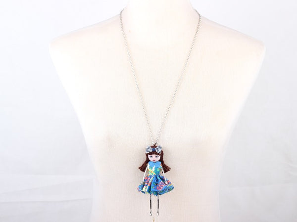 Cute Doll Necklace beautyleesh.com