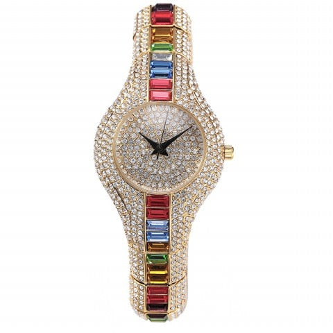 Colorful Crystal Watch