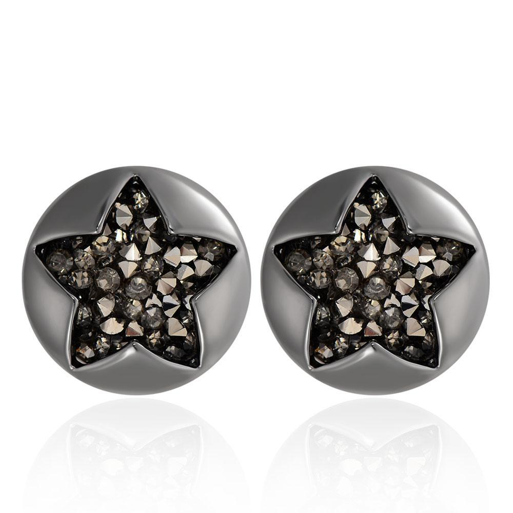 Star Round Earrings beautyleesh.com