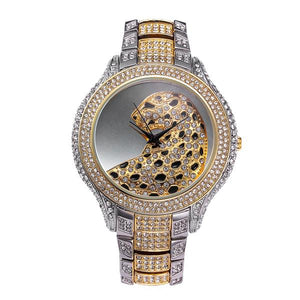 Luxury Metallic Leopard Watch (Model 1)