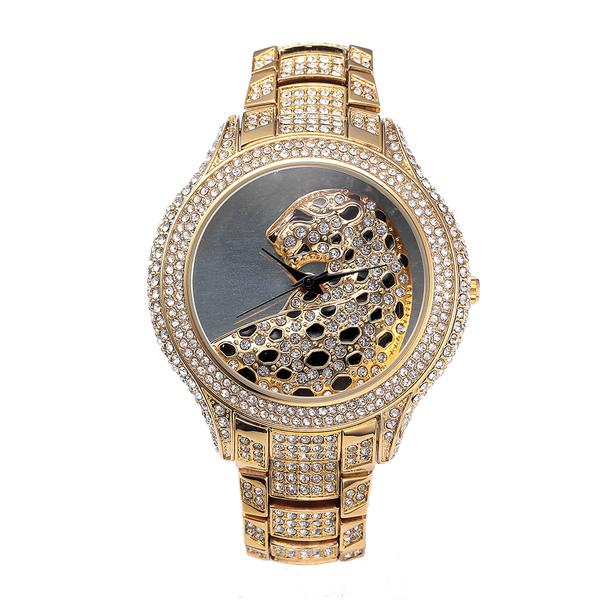 Luxury Metallic Leopard Watch (Model 1) beautyleesh.com