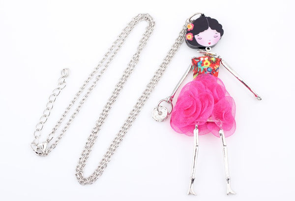 Paris Handmade Doll Necklace beautyleesh.com