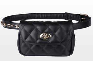 Classic Leather Waist Bag beautyleesh.com