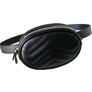 Waist and Shoulder Bag- Black or Red beautyleesh.com