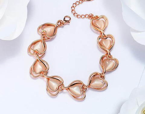 Romantic Heart Bracelet beautyleesh.com