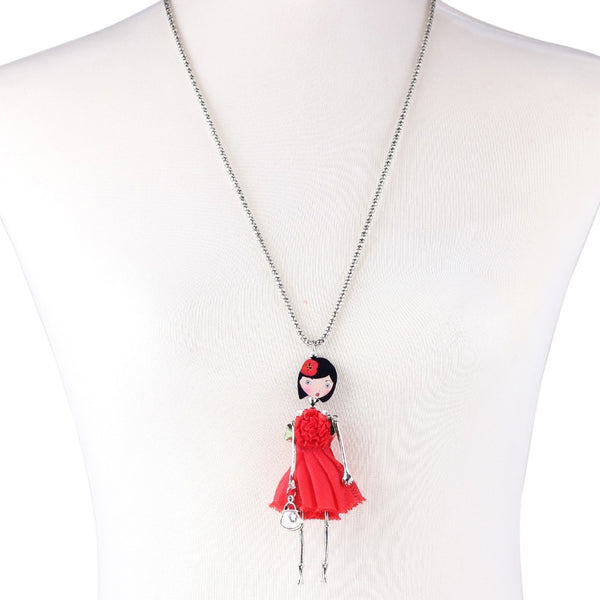 Lady Doll Necklace beautyleesh.com
