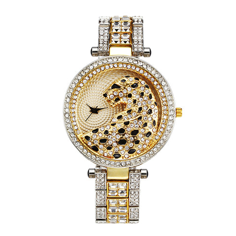 Luxury Metallic Leopard Watch (Model 2) beautyleesh.com