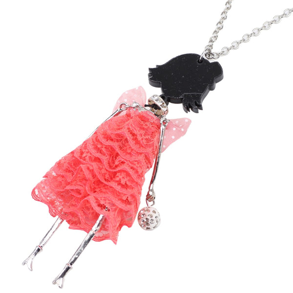 Adorable Doll Necklace beautyleesh.com