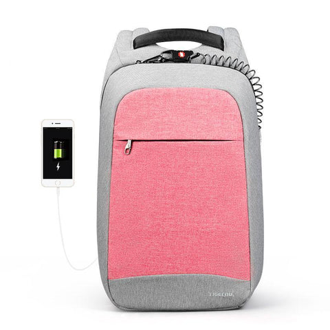 Fashion Anti Theft Backpack With Protective Cord beautyleesh.com