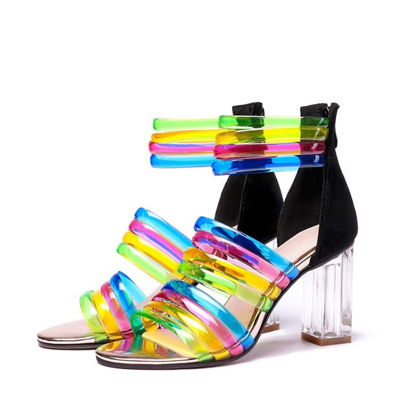Colorful Heels beautyleesh.com