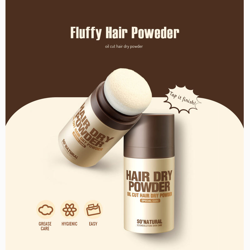 HAIR DRY POWDER