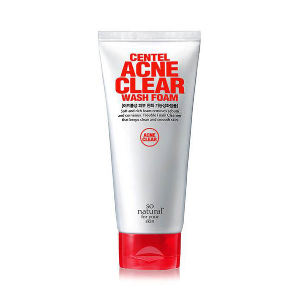 CENTEL ACNE CLEAR WASH FOAM
