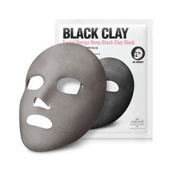 FACIAL DESIGN BLACK CLAY MASK