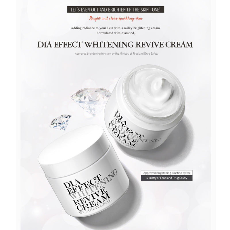 DIA EFFECT WHITENING REVIVE CREAM