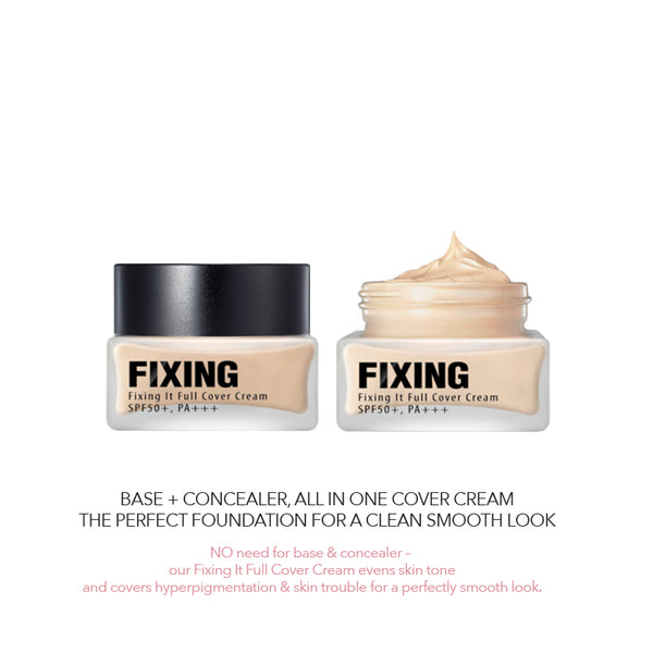 FIXING IT FULL COVER CREAM - VANILLA BEIGE