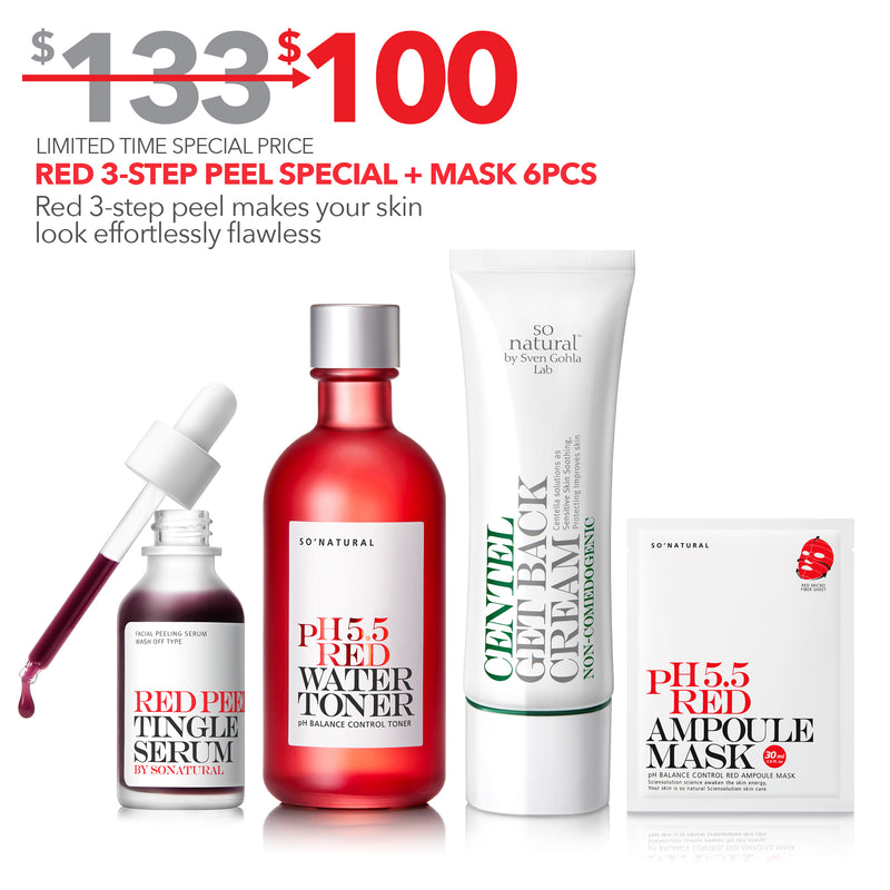 RED 3-STEP PEEL SPECIAL
