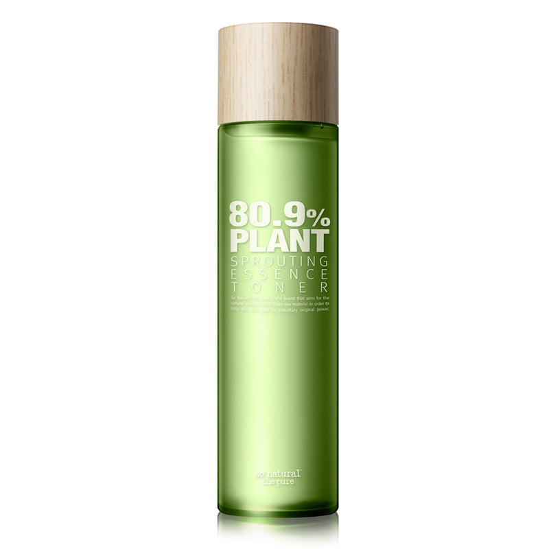 80.9% PLANT SPROUTING ESSENCE TONER