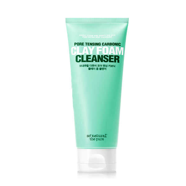 THE PURE PORE TENSING CARBONIC CLAY FOAM CLEANSER