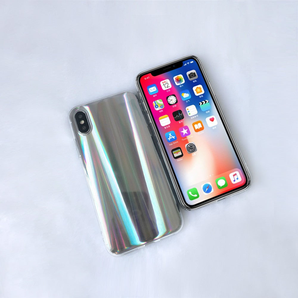 Colorful Laser Phone Case for iPhone X