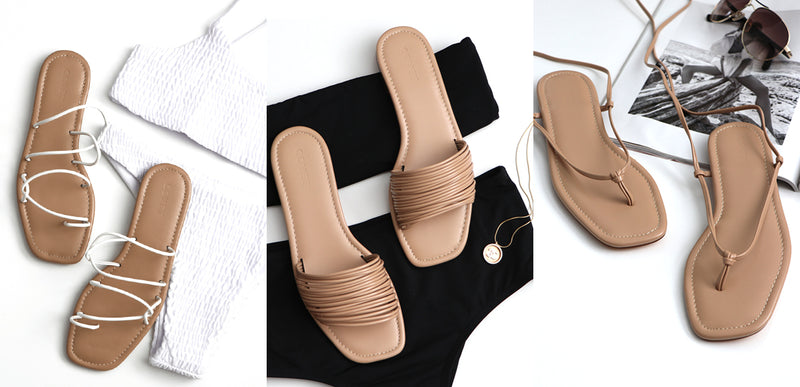 3 Flat Sandals You Need This Summer