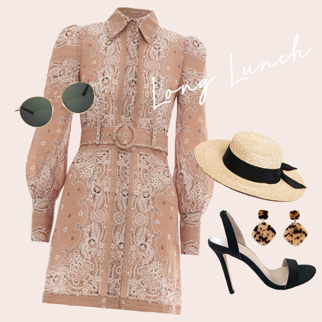 What to wear to a long lunch, long lunch outfit