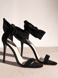 SHAZ Black Stilettos