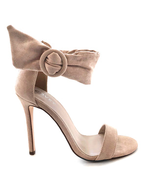 Shaz Nude Ankle Strap Stiletto