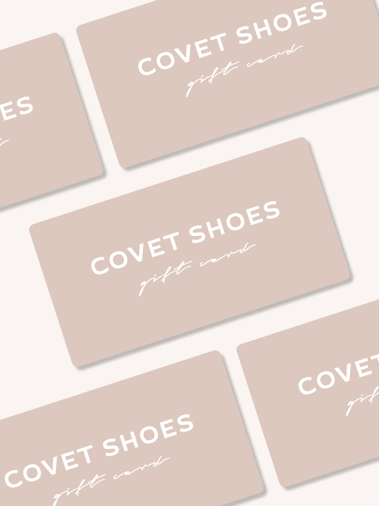 Covet Shoes Digital Gift Card