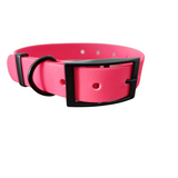 Collar brillante PVC Rosa