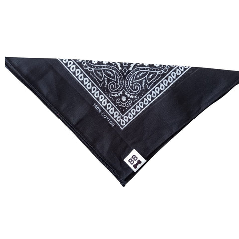 BANDANA OLD SCHOOL NEGRA